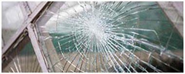 Edgbaston Smashed Glass